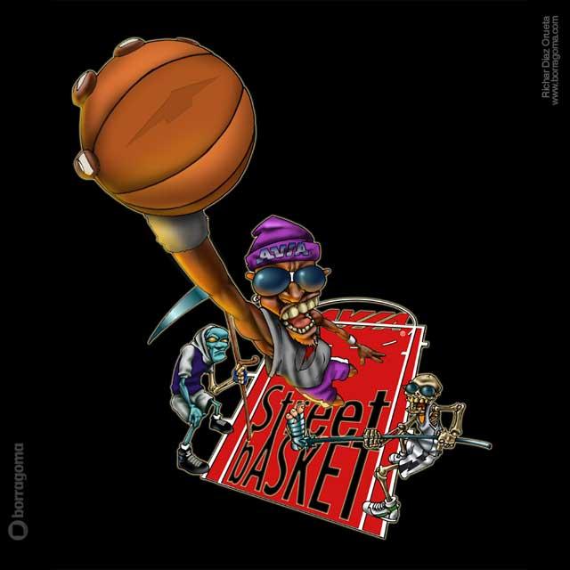 SLAM Dunk Street Basket / AVIA Sportswear