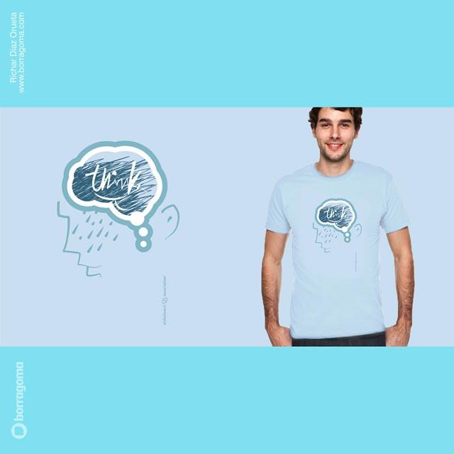DIS Alzheimer Proyecto 04 Diseño de Camiseta para la Alzheimer Association / Threadless T shirts Challenge Trabajos Realizados T Shirts Ilustración en Bilbao Ilustración Diseño Gráfico concurso Camisetas alzheimer