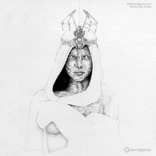 Dama de Piedra (Stone Maiden) / Mis Dibujos Olvidados