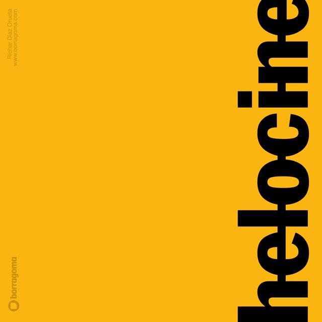 DIS HeloCINE logo 05 Helocine / Imagen Corporativa Logotipo Imagen Corporativa Diseño Gráfico
