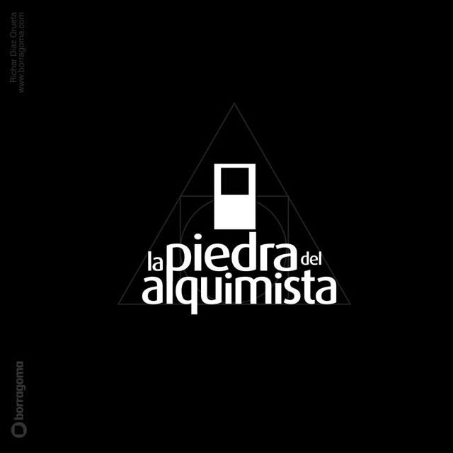 La piedra del Alquimista / Logotipo y Blog