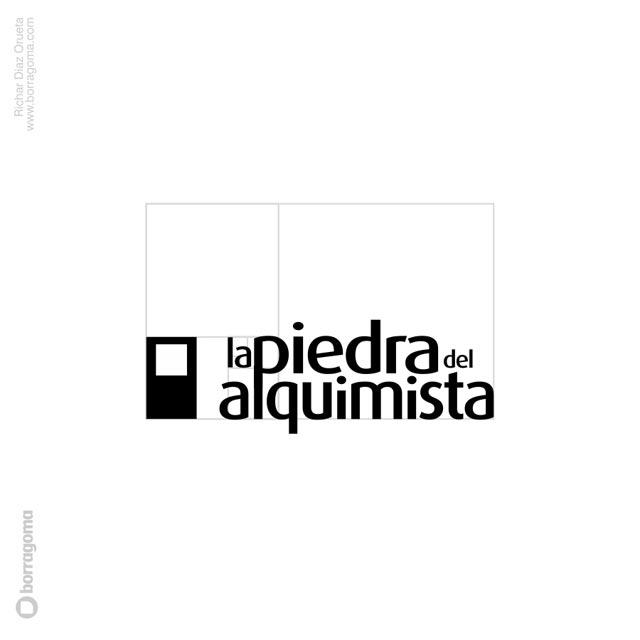 DIS PiedraAlquimista logo 05 La piedra del Alquimista / Logotipo y Blog Trabajos Realizados Logotipo Imagen Corporativa Diseño Gráfico Blog