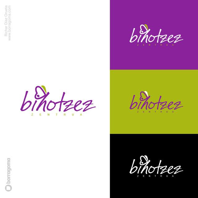 DIS Bihotzez logo 03 Bihotzez Zentrua / Imagen Corporativa Trabajos Realizados Logotipo Imagen Corporativa Diseño Gráfico