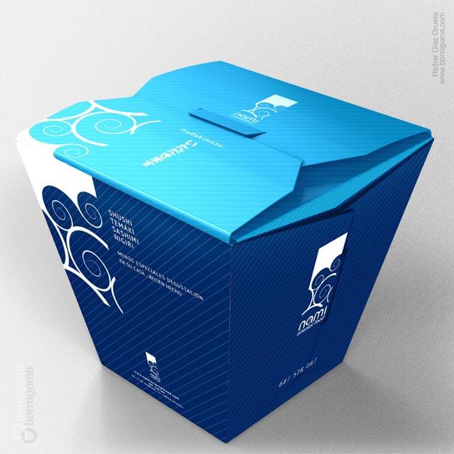 DIS Nami Box detail 01 Nami Cocina virtual / Imagen Corporativa Trabajos Realizados Logotipo Imagen Corporativa Diseño Gráfico