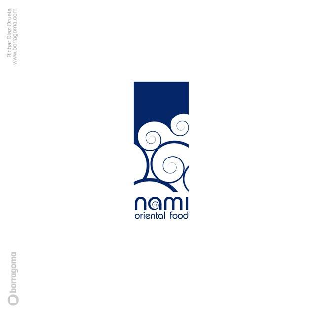 DIS Nami logo 01 Nami Cocina virtual / Imagen Corporativa Trabajos Realizados Logotipo Imagen Corporativa Diseño Gráfico
